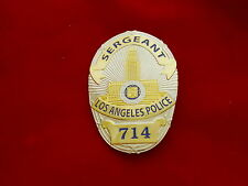 Police Badge LAPD Sergeant
