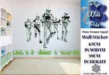 Star wars Clone trooper squad children's bedroom wall sticker large.