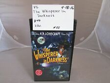 The Whisperer in Darkness Deluxe 2 disc DVD set- H.P. Lovecraft  #0418