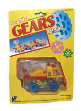 Toy Construction Vehicles Digger See My Gears Work Pull Back Action Children Kid
