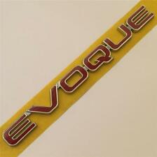 Evoque Range Rover  Red  Badge Emblem Logo Sticker SD4 Si4 TD4