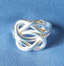 New Sterling Silver Double Infinity Ring size 6 or size 7