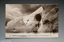Ansichtskarte CHAMONIX-MONT-BLANC Glacier de Bossons vermutlich um 1925