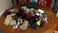 vintage and new Job lot TRIMMING, Ribbon, 2 meter fabric and more#