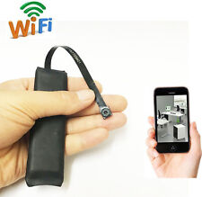 Wireless IP Wifi P2P nanny Hidden Spy small Security Camera dvr record+battery