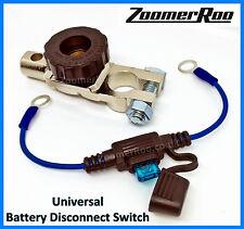 PORSCHE BATTERIA cut-off SWITCH zoomerroo + fusibile collegamento-prolungare la durata della batteria
