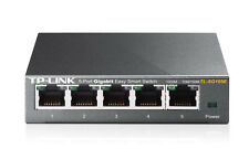 TP-LINK TL-SG105E 5 Port Ethernet Desktop Green Easy Smart Gigabit Metal Switch