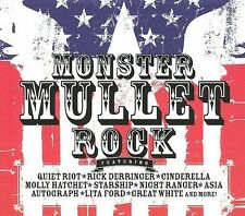 Monster Mullet Rock by Various Artists (CD, 2007, 2 Discs, Cleopatra)