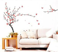 Plum Blossom Butterfly Tree Huge Wall Stickers Art Mural Children Wallpaper