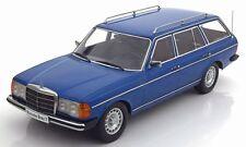 MERCEDES 250T W123 ESTATE in Blue 1/18 scale model by KK Scale Models