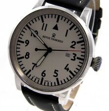 Revue Thommen Airspeed XL señores reloj acero inoxidable 47mm 16053.2533 PVP * 1200 €