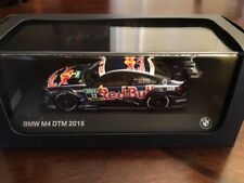 MINICHAMPS 1:43 BMW M4 DTM DA COSTA 2015 RED BULL & 1/43 BMW M4 YAS MARINA BLUE