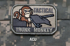 Mil-Spec Monkey TACTICAL TRUNK MONKEY morale patch Velcro back ACU