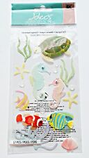 Sea Horses Turtle Tropical Fish Coral Starfish Reef Scuba Jolee's 3D Sticker