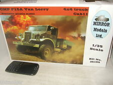 Mirror Models 35108 Canadian CMP F15A 4x4 Van/Truck Model Kit in 1:35 Scale
