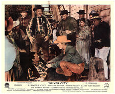 SILVER CITY Albuquerque ORIGINAL LOBBY CARD RANDOLPH SCOTT LON CHANEY