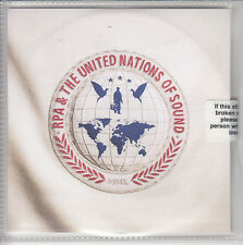 RPA & UNITED NATIONS OF SOUND s/t UK numbered promo CD sealed Richard Ashcroft