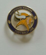 NEW NFL Minnesota Vikings Unique Fan Badge Magnet/Clip-On Pin Sports Jewelry