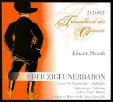 """JOHANN STRAUSS: DER ZIGEUNERBARON; ZELLER: DER VOGELH""""NDLER NEW CD"""