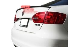 Unpainted Trunk Lip Spoiler For 11-16 JETTA MK6 Sedan ◎