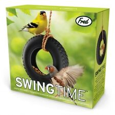 Swing Time Ceramic Tyre Bird Feeder - Tree hanging Bird Feeder - Bird Feeder
