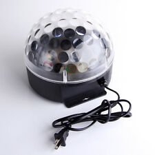 3W RGB Magic Rotating Ball Effect Led Stage Lights KTV Party Club Bar Disco DJ