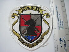 USAF SHEPPARD AIR FORCE BASE Honor Guard Knights of Honor Pocket Squadron Patch