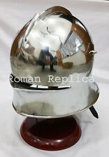 MEDIEVAL GERMAN SALLET HELMET EUROPEAN CLOSE HELM RE- ENACTMENT ARMOR COSTUME