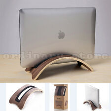 Solid Wood Stand Dock Desk Holder Base Display Rack For Apple Macbook Pro Laptop