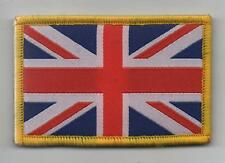 "Union Jack Patch MTP Style Badge TRF "" Yellow Merrow Border "" Velcro Backed"