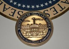 "PRESIDENT OBAMA'S  ""WHITE HOUSE MILITARY OFFICE"" CHALLENGE COIN~ NEW & AUTHENTIC"