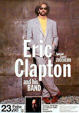 ERIC CLAPTON  Konzertplakat von 1990 in FRANKFURT
