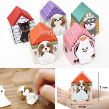 1Pc Adorable Mini Carton Dog Sticker Notes Pads Bookmark Sticky Post-it Notes