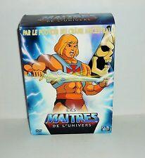 COFFRET 4 DVD VIDEO LES MAITRES DE L'UNIVERS VOL 1 21 EPISODES