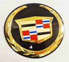 Cadillac ESCALADE 2007 08 09 10 11 12 13 2014 REAR EMBLEM!! 24K GOLD PLATED!!