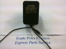 SLD81408-4 SILICORE 14VDC 0.8A UK PLUG AC/DC POWER ADAPTER 5mm BARREL CONNECTOR