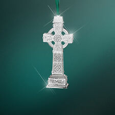 Belleek Newbridge Romance of Ireland High Cross Ornament