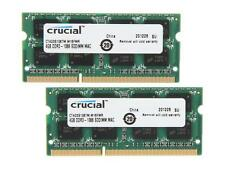 Crucial 8GB (2 x 4GB) DDR3 1066 (PC3 8500) Unbuffered Memory for Mac Model CT2K4