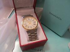 Tiffany & Co. Portfolio Stainless Steel and 18K Gold Tone Men's Watch