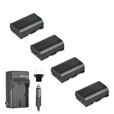 4x Extra Battery for LP-E6 and Charger Canon 5D Mark III Mark IV