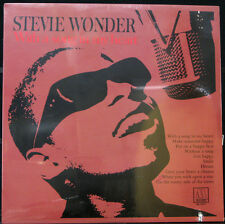 STEVIE WONDER 'With A Song In My Heart' Motown (M5-150V1) LP SEALED
