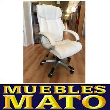 SILLA DE OFICINA SILLON DE DESPACHO SALON ESTUDIO DIRECCION BLANCO MARVIN