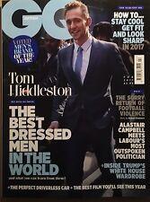 GQ Magazine British February 2017 Tom Hiddleston  Zayn Malik Ryan Gosling DRAKE