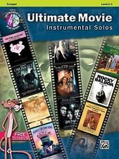 Songbook Pop Instrumental Ultimate Movie Instrumental Solos Trumpet Level 2-3