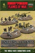 Flames of War: Entrenchments - Dug-in Markers BB106