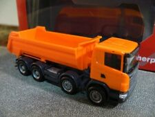 1/87 Herpa Scania R Rundmulden-LKW 4-Achs orange 306386