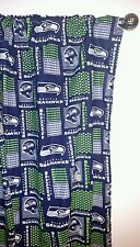 "NFL Football SEATTLE SEAHAWKS curtains Window Curtain set 55""W x 54""L"