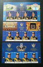 Malaysia The Coronation Of The Sultan Of Johor 2015 Royal (stamp with title) MNH