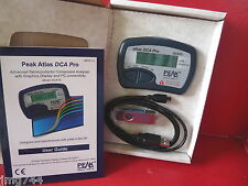 PEAK ATLAS DCA75 PRO TRANSISTOR ANALYSER CURVE TRACER Latest firmware R0021 NEW