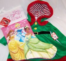Baby Elf Suit, 3/6 Months, and Disney Princess Kid's Christmas Stocking